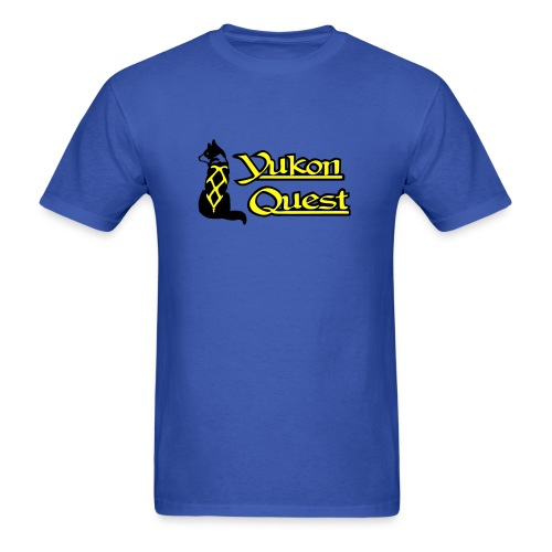 Classic Yukon Quest Logo - Mens - Men's T-Shirt