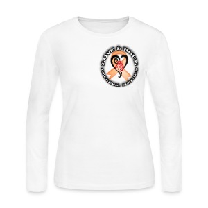 Leukemia - Save a Life - Women's Long Sleeve Jersey T-Shirt