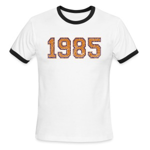 1985 Men's Lightweight Ringer Tee - Men's Ringer T-Shirt