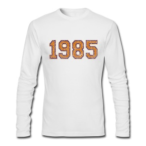 1985 Men's American Apparel Long Sleeve Tee - Men's Long Sleeve T-Shirt by Next Level