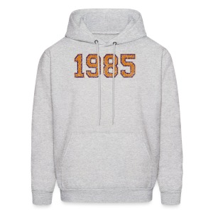 1985 Men's Hooded Sweatshirt - Men's Hoodie