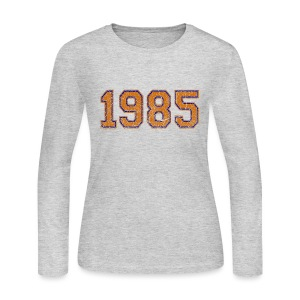 1985 Women's Long Sleeve Jersey Tee - Women's Long Sleeve Jersey T-Shirt