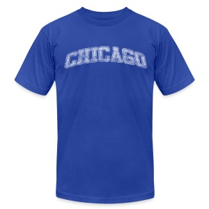 Chicago Arch - Men's T-Shirt by American Apparel