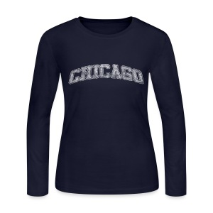 Chicago Arch - Women's Long Sleeve Jersey T-Shirt