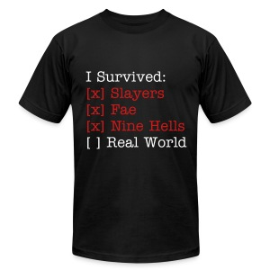 I Survived... Men's AA Tee - Men's T-Shirt by American Apparel