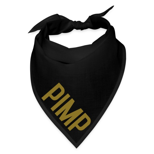 PIMP Bandana - Metallic Gold  - Bandana