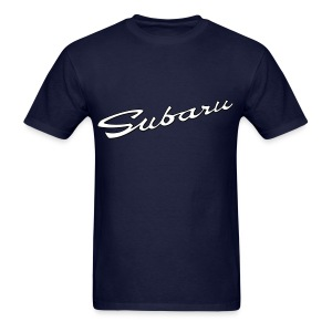Subaru script - Men's T-Shirt