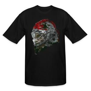 Chicago Eagle Mask Men's Tall T-Shirt - Men's Tall T-Shirt