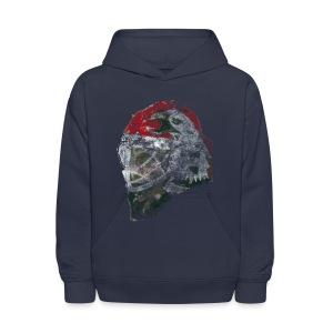 Chicago Eagle Mask Kid's Hooded Sweatshirt - Kids' Hoodie