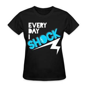 [B2ST] Every Day I Shock (Front & Back) - Women's T-Shirt