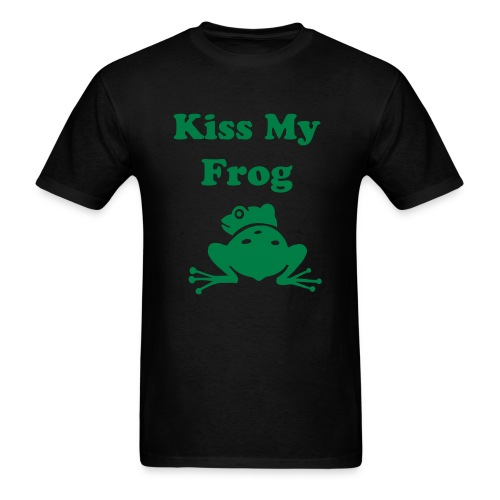Mens/Kiss My Frog - Men's T-Shirt