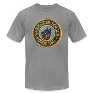 Boston Police K-9 Men's American Apparel Tee - Men's Fine Jersey T-Shirt