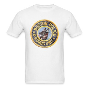 Boston Police K-9 Men's Standard Weight T-Shirt - Men's T-Shirt