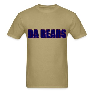 Da Bears Stitched Style Men's Standard Weight T-Shirt - Men's T-Shirt