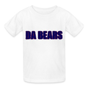 Da Bears Stitched Style Children's T-Shirt - Kids' T-Shirt