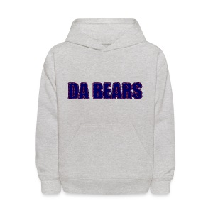 Da Bears Stitched Style Kid's Hooded Sweatshirt - Kids' Hoodie
