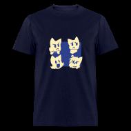 T-Shirts ~ Men's T-Shirt ~ Men's Four Cats T-Shirt