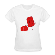 T-Shirts ~ Women's T-Shirt ~ Girls' Brick T-Shirt