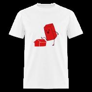 T-Shirts ~ Men's T-Shirt ~ Men's Brick T-Shirt