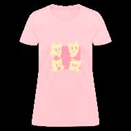T-Shirts ~ Women's T-Shirt ~ Girls' Four Cats T-Shirt