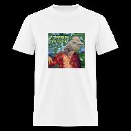 T-Shirts ~ Men's T-Shirt ~ Zombie Chicken Lightweight Tee White
