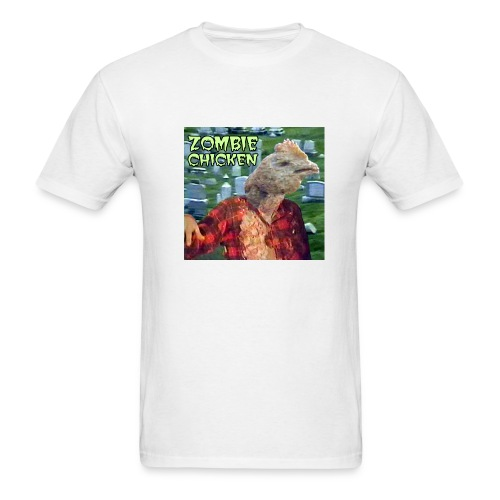 Zombie Chicken Lightweight Tee White - Men's T-Shirt