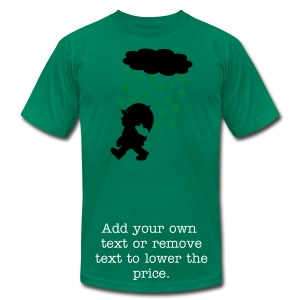 Irish Rain - Men's T-Shirt by American Apparel