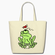 Frog Chasing Love Bags