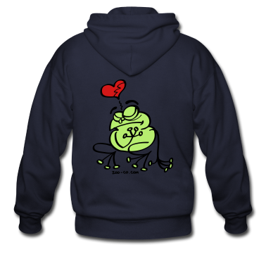 Broken Hearted Frog Zip Hoodies/Jackets