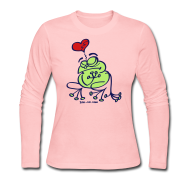 Broken Hearted Frog Long Sleeve Shirts
