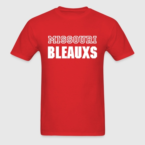 MISSOURI BLEAUXS - Men's T-Shirt