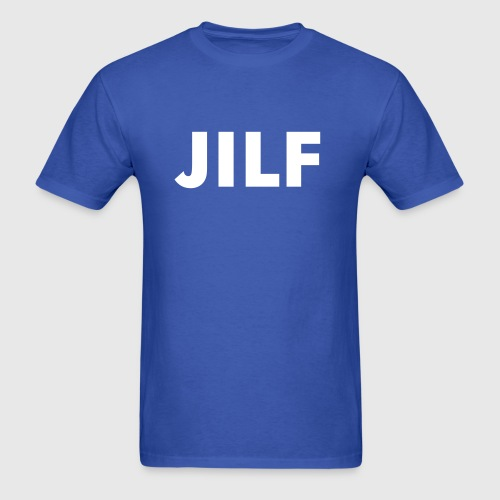 Kansas  (Jayhawk I'd Like to F***) JILF - Men's T-Shirt