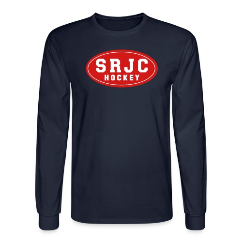 Vintage Men's SRJC Hockey Long Sleeve T-shirt - Men's Long Sleeve T-Shirt