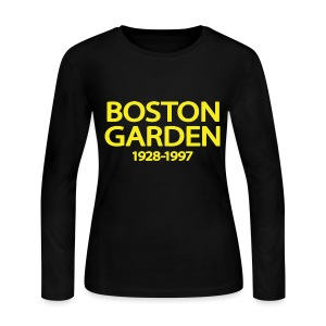 The Garden Women's Long SLeeve Jersey Tee - Women's Long Sleeve Jersey T-Shirt