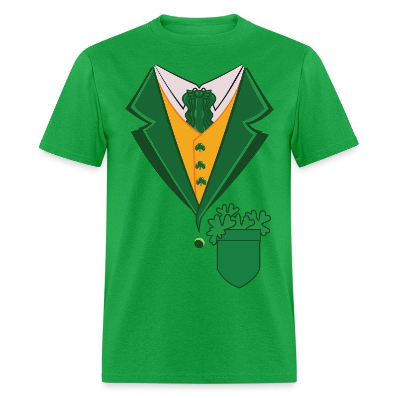 Irish tuxedo t shirt spreadshirt for Make your own tuxedo t shirt