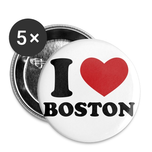 I LOVE BOSTON  - Small Buttons