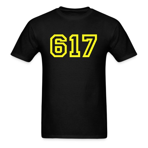 black & yellow - Men's T-Shirt