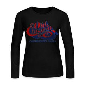 Vintage Old Chicago Women's Long Sleeve Jersey Tee - Women's Long Sleeve Jersey T-Shirt