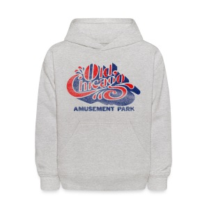 Vintage Old Chicago Kid's Hooded Sweatshirt - Kids' Hoodie