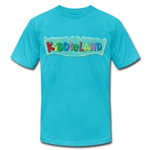 Classic Chicago Kiddieland Men's American Apparel Tee - Men's T-Shirt by American Apparel