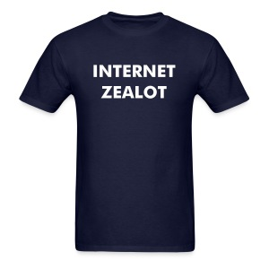 Internet Zealot Mens Standard Shirt - Men's T-Shirt