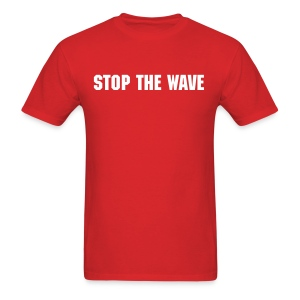 Stop The Wave Mens Standard Shirt - Men's T-Shirt