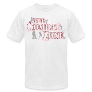 The Combat Zone Men's American Apparel Tee - Men's T-Shirt by American Apparel