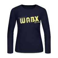 Long Sleeve Shirts ~ Women's Long Sleeve Jersey T-Shirt ~ WABX Women's Long Sleeve Jersey Tee