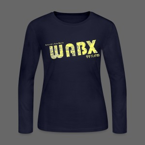 WABX Women's Long Sleeve Jersey Tee - Women's Long Sleeve Jersey T-Shirt
