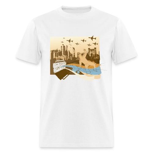 Explosion - Men's T-Shirt