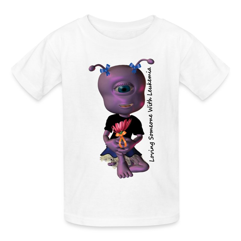 Leukemia - Save a Life Alien - Kids' T-Shirt