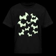 Kids' Shirts ~ Kids' T-Shirt ~ Children Bats T-Shirt - Bats Glow in the Dark
