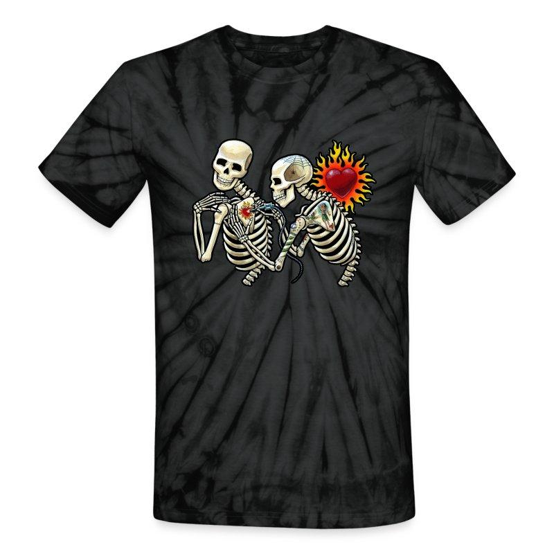 The Tattoo - Unisex Tie Dye T-Shirt