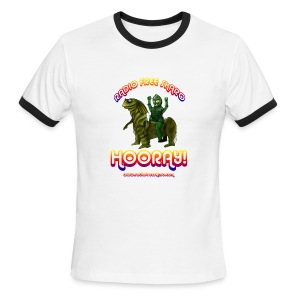 Hooray! (Ringer Tee) - Men's Ringer T-Shirt
